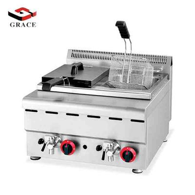 Commericial Gas double cylinder fryer